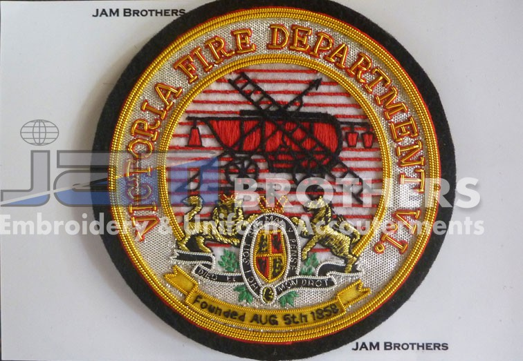 Bullion Badges (7) – JAM Brothers Embroidery & Uniforms