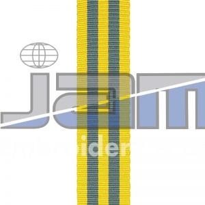 Medal Ribbons Stripes Red Blue Yellow Army Navy Airforce