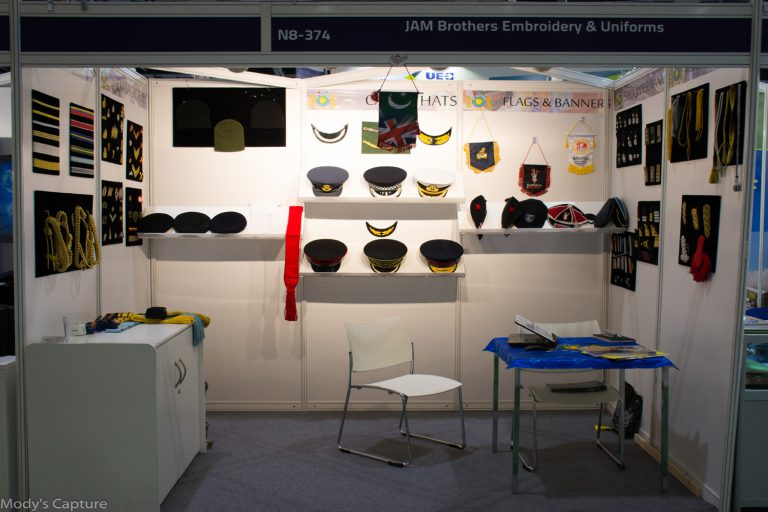 DSEI London UK September 2017 DEFENSE EXHIBITION ARMY AIRFORCE NAVY UNIFORMS ACCOUTERMENTS Bullion Badges Embroidery United Kingdom Regimental Officer Caps Hats Embroidery Ceremonial Africa Europe Germany Denmark Asia Arab Qatar UK United Kingdom Royal Event Exhibition Milipol Paris 2017 Aiguillettes Shoulders Ranks Sliders Berets Hats Wire Embroidery Fringe Cord Sialkot Pakistan Exhibition Pakistan Exhibition Company Sialkot Only Company in DSEI