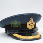 Headwear - Army Airforce Navy Officer Cap Peak Cap Visor Cap Embroidery Bullion Wool Service Dress No 1 Police CapBadges CapCord ChinStrap Sialkot Pakistan JAMBrothers Embroidery Uniforms Berets Headwear London UK United Kingdom Europe Germany France Italy Africa Ghana Nigeria Lybia USA Canada