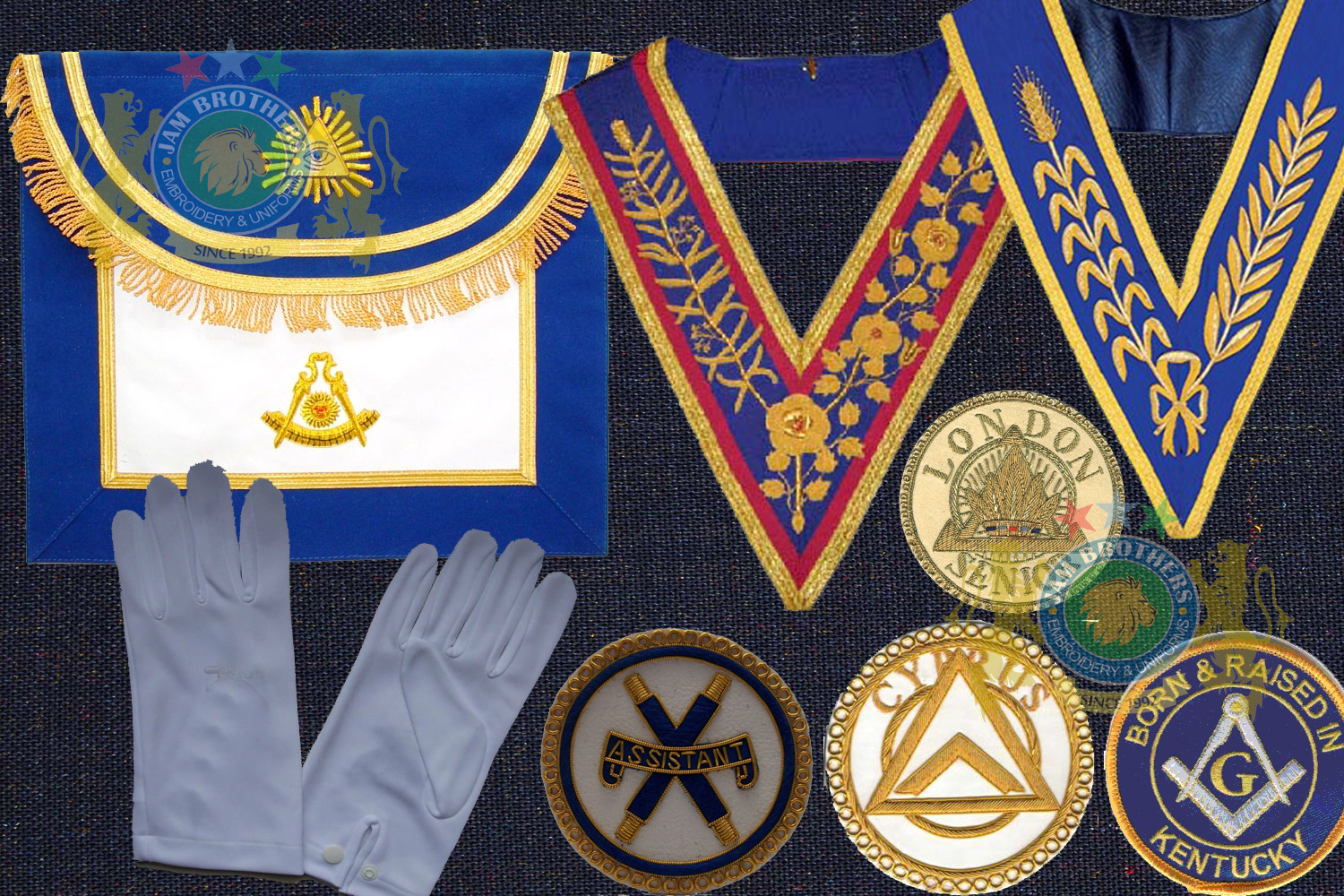 Freemason Products Apron Gloves Compass Logo Eye Freemason Patches Scarf Bag Masonry Flags Banners Pennants Embroidered Hand Machine Printed Clubs Promotional Table Flags Car Flag Hoisting Flags Ranks Shoulders Sliders Bullion Shoulder Ranks Naval Army History Period Epaullettes Epaulet Shoulder Rank Slider Caps Hats Officer Caps Berets Military Honor Cap Sports Cap Beanie Officer hat officer cap Lanyard Sword Knot Aiguillettes Braid Rope Ribbon Accessories Military Uniform Accouterments Lace Trimming Braid Gold White Silver Blue Weave Weaving Uniforms Accouterments Tailor Belts Leather Ceremonial Combat Cadet Parade Belts #Hand Embroidery #BullionEmbroidery #TradeBadges #MessDress #Badges #Ranks #Regiment #Parade #Ceremonial #Cord #Textile #ArmedForces #BritishArmy #Army #Aiguillette #Military #MilitaryUniforms #Militaria #Insignia #Headwear #Caps #OfficerCaps #UniformCaps #PeakCaps #DressCaps #MilitaryCaps #RailCap #Berets #Glengarry #RoyalNavy #RoyalMarine #RoyalAirForce #RAF #Infantry #Armor #EME #Battalion #Medals #Ribbons #Braid #Lace #Uniforms #UniformSupplie #Police #Security #Buckles #Guards #Accoutrement #Badge #Patch #Machine #MachineEmbroidery #HandEmbroidery #Bullion #BullionBadges #BullionEmbroidery #WovenBadges #Woven # Emblems #Regiment #Regimental #OfficerCaps #PeakCaps #Soldier #Helmets #Covers #HelmetCovers #Armlets #Sliders #Epaulettes #Webbing #Chevron #Officer #ShoulderBoards #Gorgets #Tassel #Sash #Hand #HandSewn #Aviation #AviationClothing #Crest #FamilyCrest #CoatofArms #EmbroideredPillows #Cords #Aiguillettes #CapCords #ChinCord #DressCord #SwordKnot #Tassels #WhistleCord #Lanyard #Knots #Banners #ClanBadges #Peaks #Visor #Wings #CapBadges #Pennants #HonorCaps #OfficerCaps #SportsCap #Masonic #Aprons #MasonicAprons #Collars #MasonicCollars #Gloves #MasonicGloves #MasonicPatches #Patches #Regalia #MasonicRegalia #Freemason #Braid #Chevron #Cuffs #Fringes #Sashes #HeadGear #FieldGear #England #USA #Poland #ArmedForces #Schools #Colleges #University #Sialkot #Pakistan Sialkot Pakistan PeakCaps OfficerCaps ShoulderRanks BullionBadges UniformAccessories MilitaryUniforms DressCap TradeBadge RankMarking WireBadges Army Airforce Navy Police